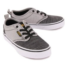 Vans Atwood Chambray Elasticated Lace-Up Trainers-listing
