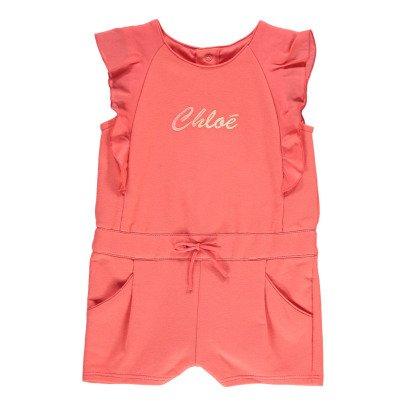 "Chloé ""Smile"" Fleece Playsuit-product"