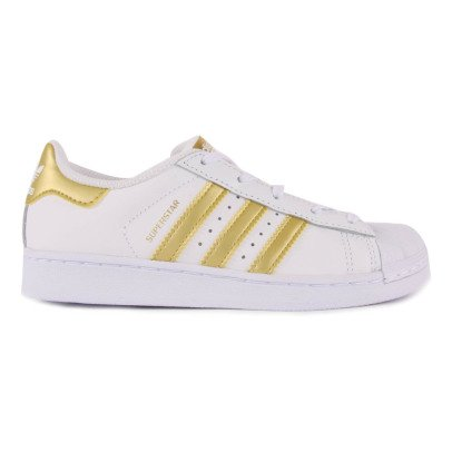 Adidas Baskets à Lacets Superstar Gold-listing