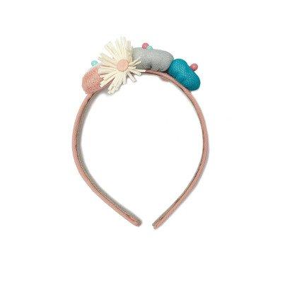 Paade Mode Haarreifen mit Bommel Anemone -listing