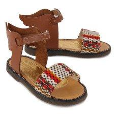 Babywalker Flat Folk Wing Sandals-listing