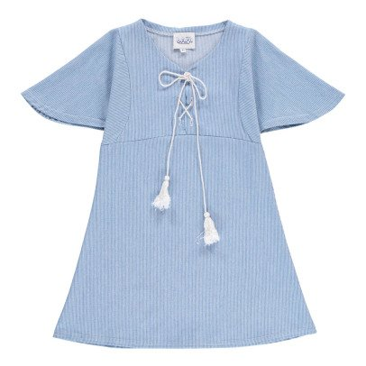 Atelier Barn Vestido Rayas Finas Lina-listing