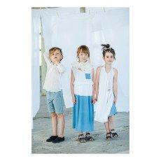 Paade Mode Robe Crêpe Bicolore Rununculus-listing
