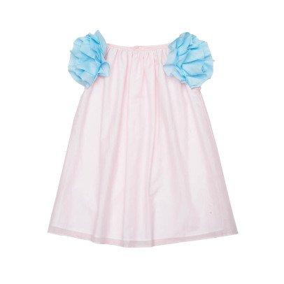 Paade Mode Vestido Volantes Hombros Laurel-listing