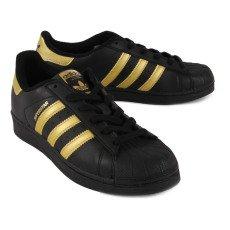 Adidas Baskets à Lacets Superstar Gold-listing