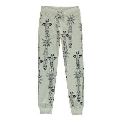 Mini Rodini Organic Cotton Totem Sweatpants-listing