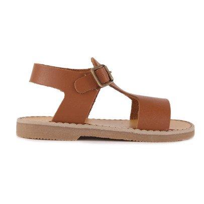 Babywalker Buckled Leather Sandals -listing