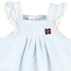 CARREMENT BEAU Striped Romper-product