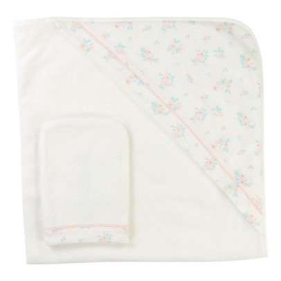 CARREMENT BEAU Floral Towel + Flannel-product