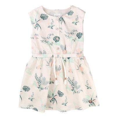 CARREMENT BEAU Satin Leaf Dress-listing