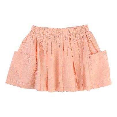 CARREMENT BEAU Cotton Pleated Skirt-listing