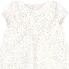 CARREMENT BEAU Robe + Bloomer Broderie Anglaise-listing