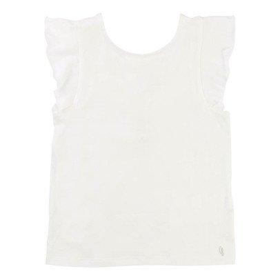 CARREMENT BEAU Low-Cut Back T-Shirt-listing