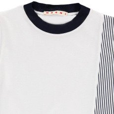Marni Striped Structured T-Shirt-listing