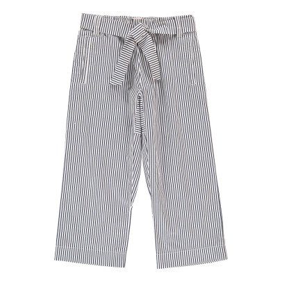 Marni Striped Trousers with Bow Belt-listing