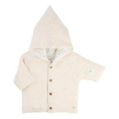 CARREMENT BEAU Hooded Coat-listing