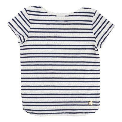 CARREMENT BEAU Gestreiftes T-Shirt -listing