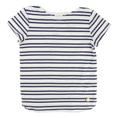 CARREMENT BEAU Striped T-Shirt-listing
