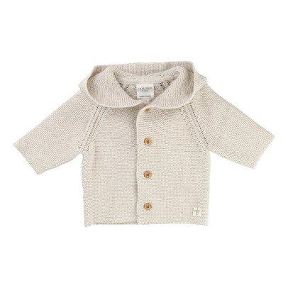 CARREMENT BEAU Hooded Cardigan-listing