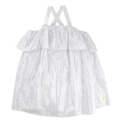 CARREMENT BEAU Robes Bain de Soleil Rayée-listing
