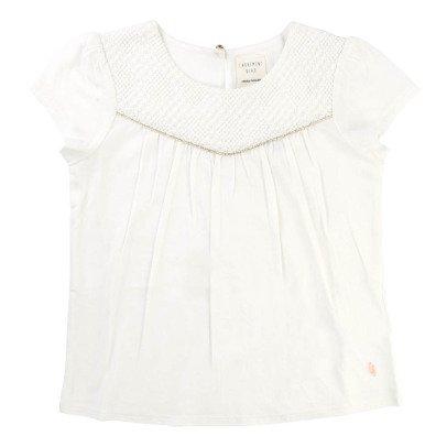 CARREMENT BEAU Lace Bib T-Shirt-listing
