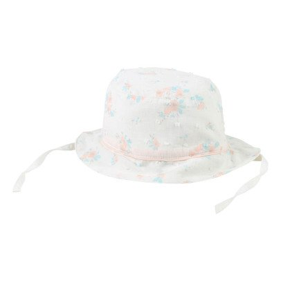 CARREMENT BEAU Floral Dobby Spot Hat-product