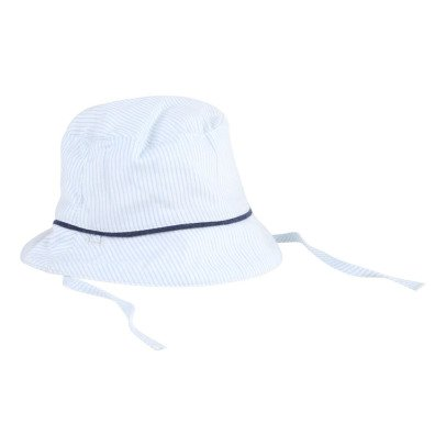 CARREMENT BEAU Striped Hat-listing