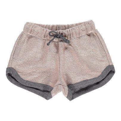 ANNE KURRIS Lurex Fleece Shorts-listing