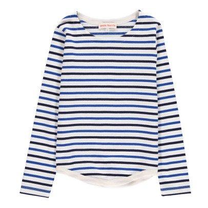 ANNE KURRIS Sweat Coton Japonais Rayé Max-listing
