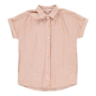 ANNE KURRIS Vestido Camisa Rayas Lúrex Zhara-listing