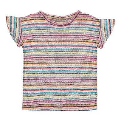 Bellerose T-shirt Rayé Dob-listing