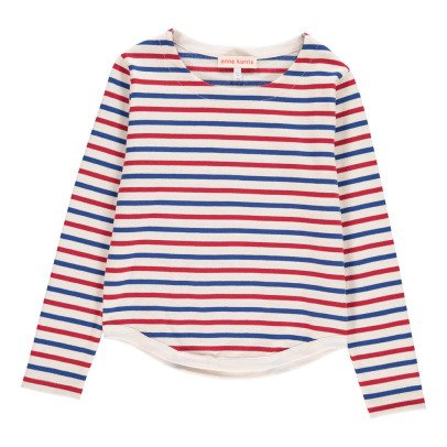 ANNE KURRIS Max Striped Japanese Cotton Sweatshirt-listing