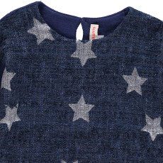 ANNE KURRIS Jungle Lurex Star Sweatshirt-listing