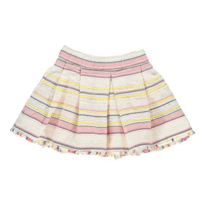 Bellerose Accent Embroidered Stripe Skirt-listing