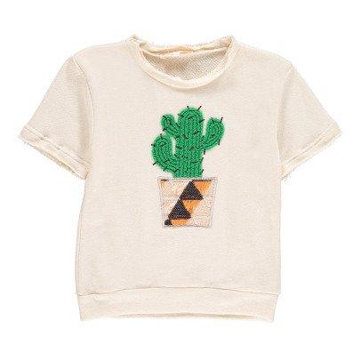ANNE KURRIS Felpa ricamata Cactus -listing