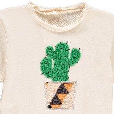 ANNE KURRIS Sweatshirt mit Kaktus Stickerei -listing
