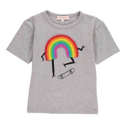 ANNE KURRIS Rainbow Lou Patchwork T-Shirt-listing