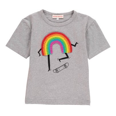 ANNE KURRIS T-shirt Patch Bouclette Lou Rainbow-listing