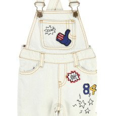 Little Marc Jacobs Patchwork Denim Dungarees-product
