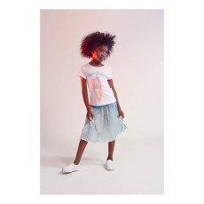 Little Marc Jacobs Iridescent Pleated Midi Skirt-listing