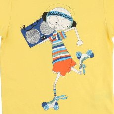 Little Marc Jacobs Rollerblade Mr Marc T-Shirt-listing