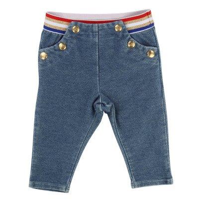 Little Marc Jacobs Jeggings Cintura colorata-listing