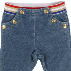 Little Marc Jacobs Jeggings with Coloured Belt-listing
