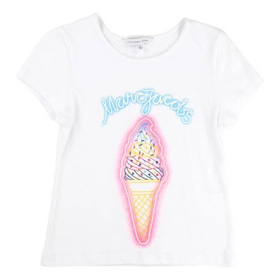 Little Marc Jacobs Neon Snowflake T-Shirt-listing