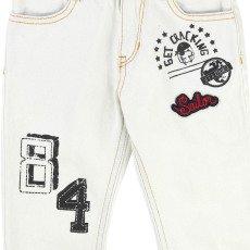 Little Marc Jacobs Jean Regular Denim Patchs-listing