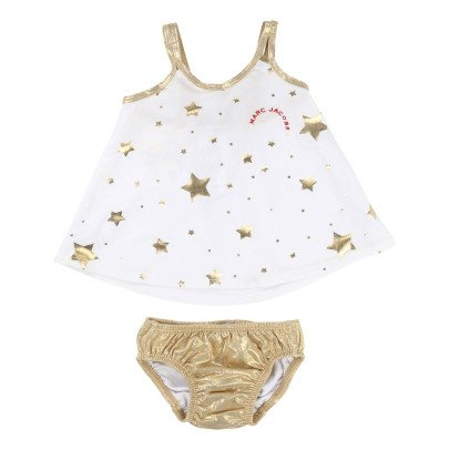 Little Marc Jacobs Star Iridescent 2 Piece Swimsuit-product