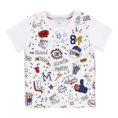 Little Marc Jacobs Cinema Patchwork T-Shirt -listing