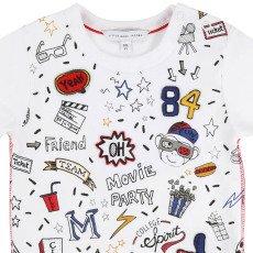 Little Marc Jacobs T-shirt Patchs Cinéma-listing