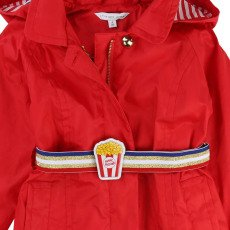 Little Marc Jacobs Popcorn Hooded Waterproof with Belt-listing