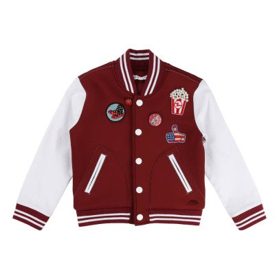 Little Marc Jacobs Pathwork Neoprene Baseball Jacket-listing